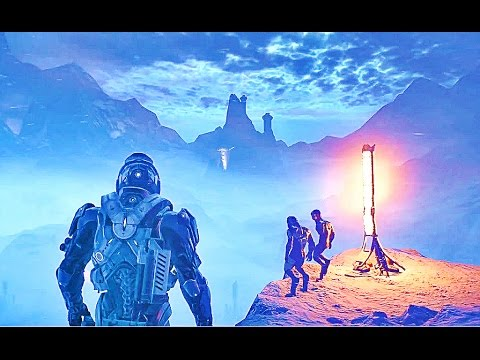 MASS EFFECT ANDROMEDA All Initiative Briefing Trailers
