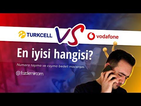 Turkcell mi, Vodafone mu? - Numara taşıma ve yüksek cayma bedeli iadesi maceram