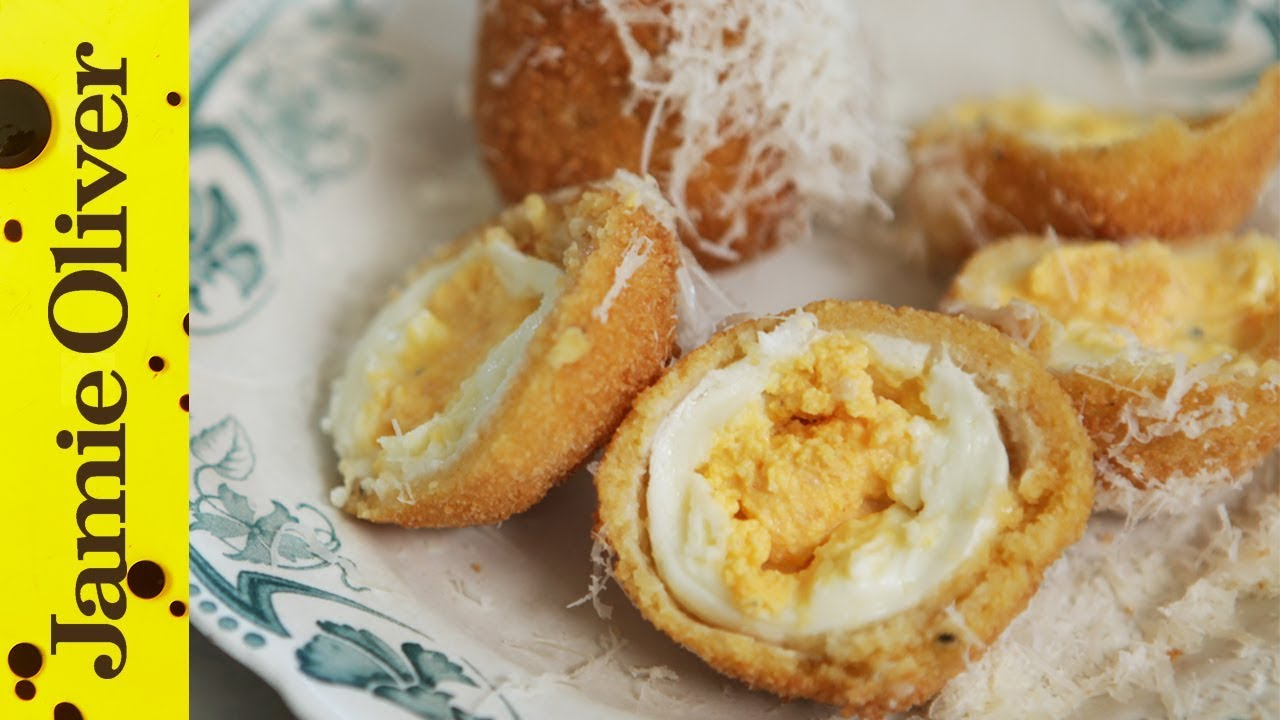 Incredible italian scotch egg gennaro contaldo youtube forumfinder Images