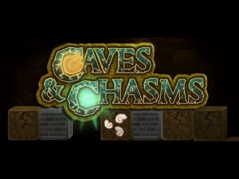 CAVES N CHASMS | iOS / ANDROID GAMEPLAY TRAILER