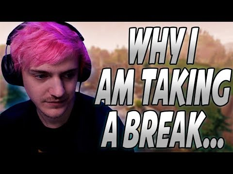 Ninja Explains Why He Will NOT Be Streaming As Much Anymore & Why He's Been Taking A BREAK!