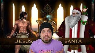 JESUS vs SANTA on Nintendo Switch?! WTF IS THIS GAME?! | RGT 85
