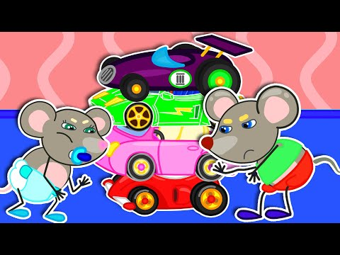 Download Mouse Family Official Cannel 🍒 Magic Little Driver Ride on Toy Cars | Cartoon for Kids
