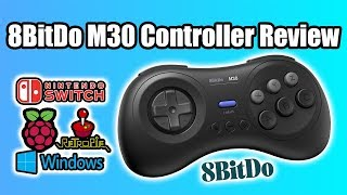 8Bitdo M30 Controller Review - A Sega Style Controller for the Switch Raspberry Pi And PC