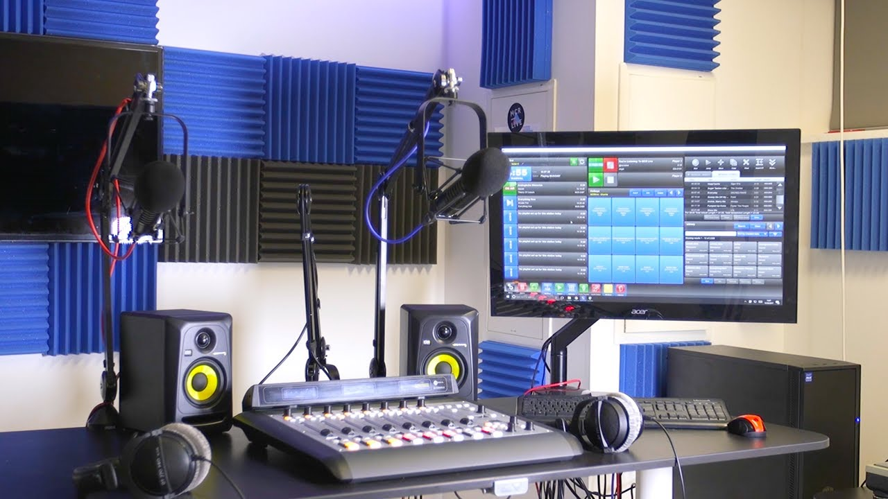 Setting Up A Professional Radio Studio What You Need To