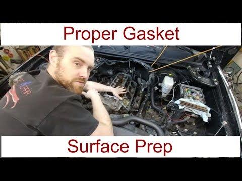 Proper Head Gasket Preparation on LS Base DOD Engine