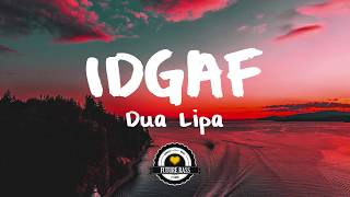 Download Dua Lipa - IDGAF (Two Friends Remix) MP3 song and Music Video