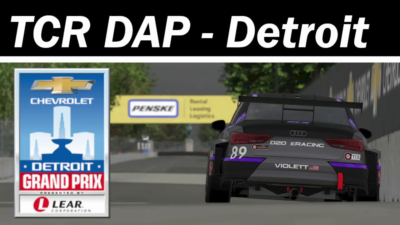 TCR Drivers - Belle Isle DAP Guide
