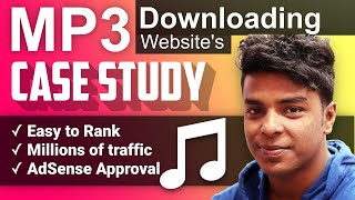 Songs Downloading Site Case Study   Ranking   Traffic   Earning