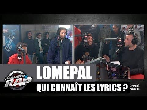 Lomepal - Qui connait les lyrics avec Roméo Elvis, Caballero & JeanJass #PlanèteRap