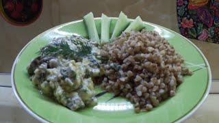 Завтрак от хороших людей / Рецепт от Кристины Довлатовой / Куриные сердечки в сырном соусе