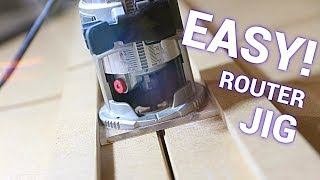 Make A Router Jig