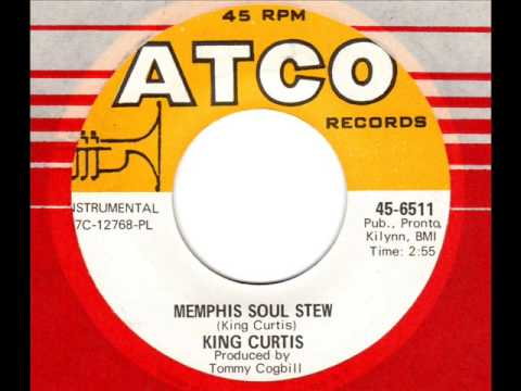 KING CURTIS  Memphis Soul Stew