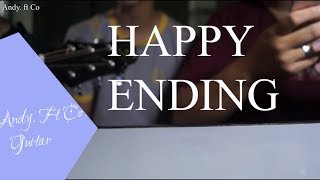 HAPPY ENDING - ERIK | Guitar Acoustic Cover | By Andy. ft Co