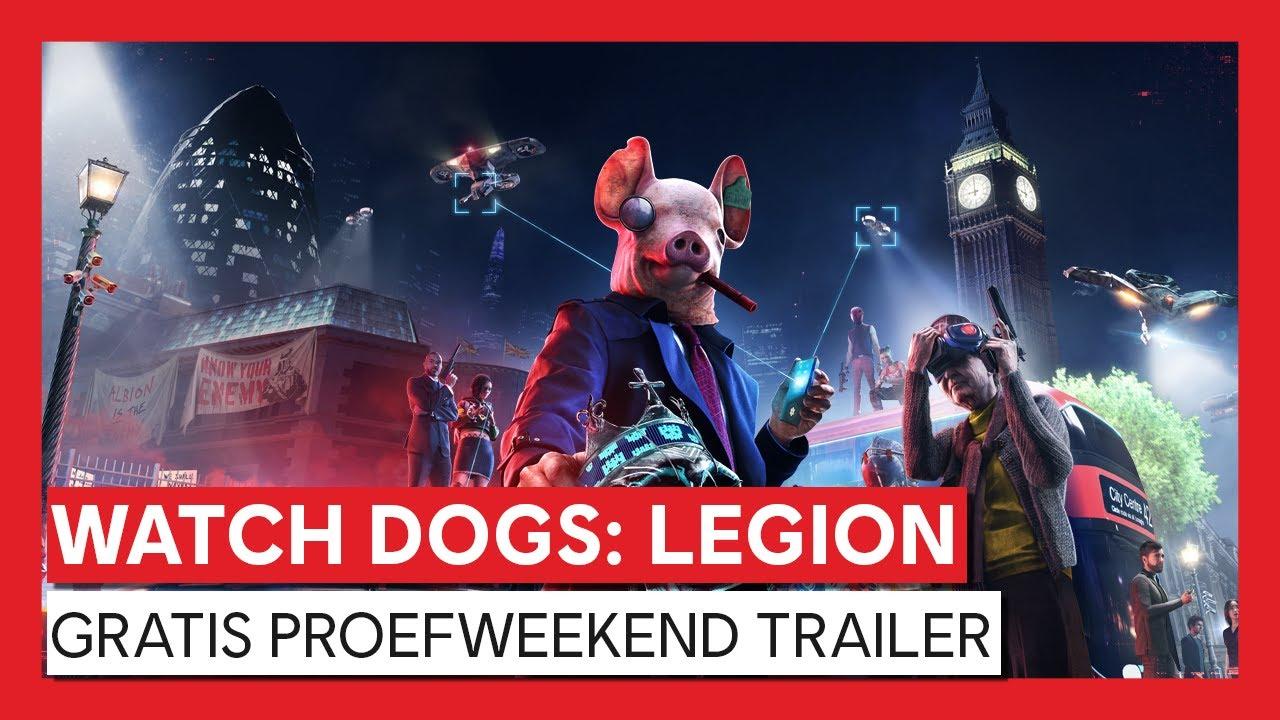 WATCH DOGS: LEGION GRATIS PROEFWEEKEND TRAILER