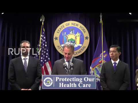 USA: NY Attorney General files multistate lawsuit against Trump's 'unlawful' healthcare cuts
