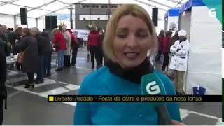 A parroquia de Arcade celebrou a trixésima edición da popular Festa da Ostra