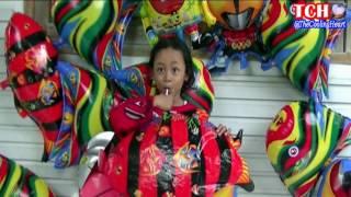 tips qyla dan teman teman meniup balon karakter ikan   balonku ada lima