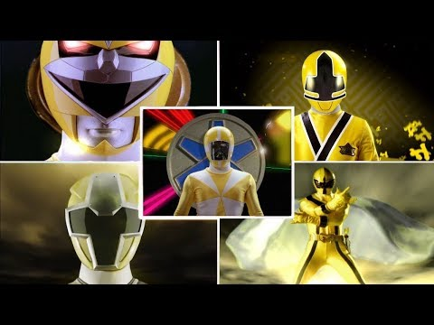 Power Rangers Official | Top 10 Yellow Ranger Morph Sequences | Ninja Steel
