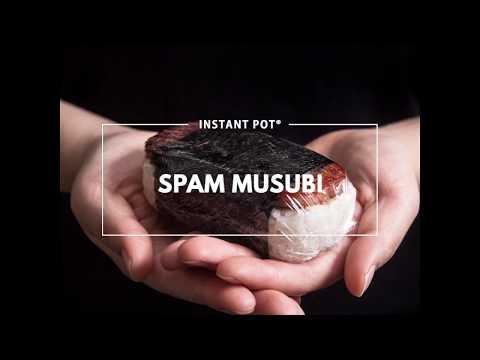Instant Pot Spam Musubi
