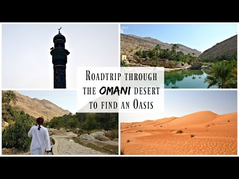 Driving From Muscat to Wadi Bani Khalid | Oman Travel Vlog | Lux Life