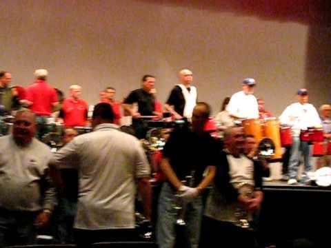 """Rio"" rehearsal for Dixie Stinger-Cabs Alumni 2011"