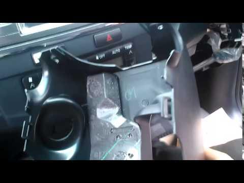 Oriscom GPS วิธีการถอดคอนโซลหน้ารถ Toyota Fortuner