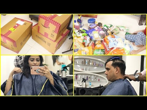 Indian MOM New Hair Cut Gone Wrong | Grocery Shopping Done in Budget | Friday Vlog