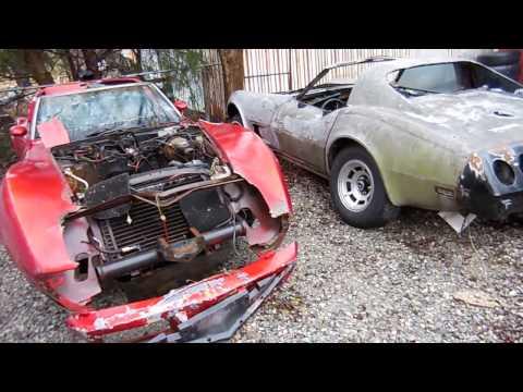 C3 Corvette Parts Cars! Who needs parts? 1978 & 1977