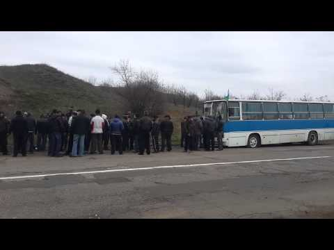 Артёмовск. Автобус с наёмниками. 2