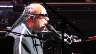 Stevie Wonder - Black Man - Boston Garden - 11/11/14