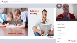 Encouraging extensive reading  to advance intensive reading skills