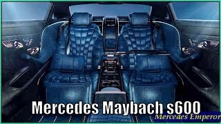 Mercedes Maybach S600 Luxury Car Interior Exterior Review