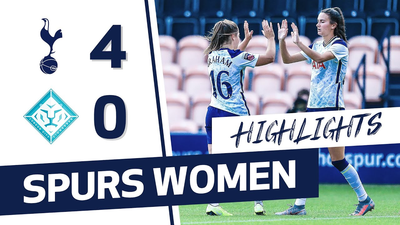 HIGHLIGHTS | SPURS WOMEN 4-0 LONDON CITY LIONESSES | CONTI CUP