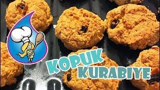 Kopuk kurabiye yapılışı kolay ve lezzetli tarif