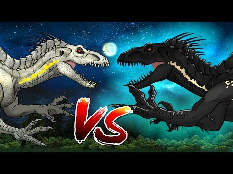Dinosaurs Battle   Indoraptor VS Indoraptor