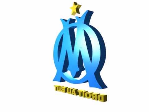 Olympique de marseille football club in 3d youtube - Logo de l olympique de marseille ...