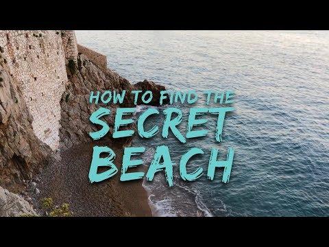 Secret Beach in Monaco