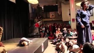 Performance du Collectif A-Musée, soirée Peacock Palace 10