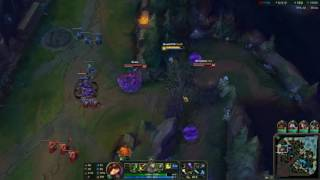 Nice use of teemo stealth in bush