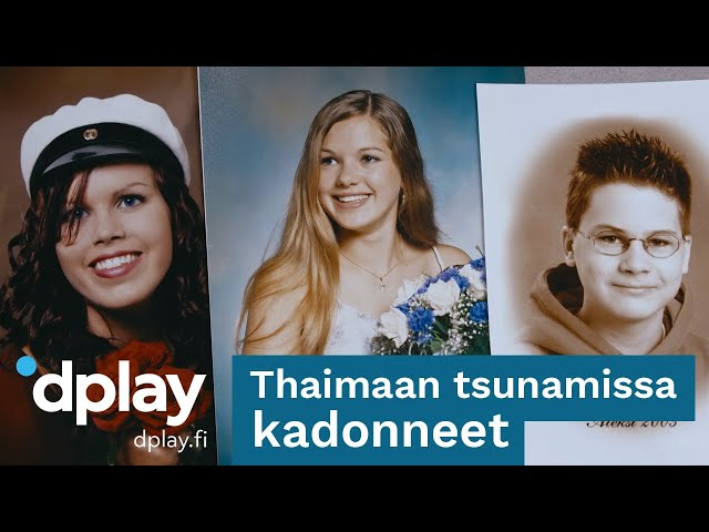 Kadonneet Suomi   Thaimaan tsunamissa kadonneet   Dplay.fi