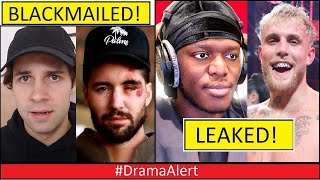 David Dobrik & Jeff Wittek ( BLACKMAILED ) #DramaAlert Jake Paul vs KSI Info Bryce Hall Addison Rae!