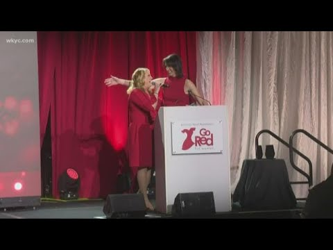 Betsy Kling Emcees Go Red American Heart Association Event In Cleveland