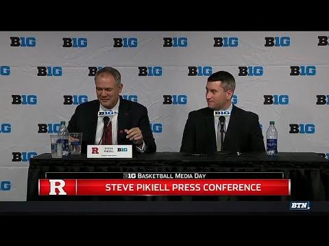 2017 Big Ten Men's Basketball Media Day - Rutgers' Steve Pikiell