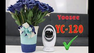 Camera giám sát Yoosee YC 120   Kết nối wifi nhanh chóng   Báo động xem từ xa