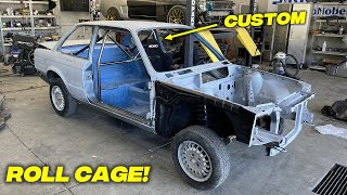 Building a CUSTOM Roll-Cage For My BMW E30 V8 Swap - Episode 5