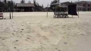 La mer, le sable et ma pomme