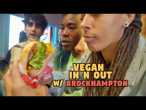 Eating Vegan In-n-Out With Brockhampton || Monty's Good Burger