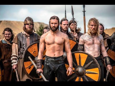Vikings scene of battles // Attack of Paris