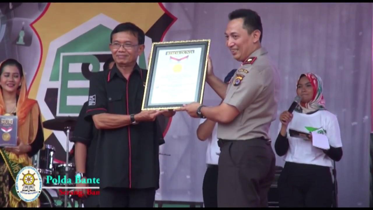 Polda Banten Resmikan Banten Bersatu